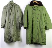 Sale 8952M - Lot 648 - A set Of Three Green Army Overcoats And Another