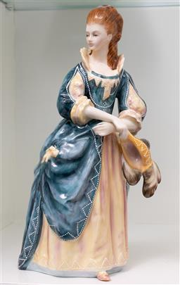 Sale 9256H - Lot 50 - A Royal Doulton figure of the Hon. Frances Duncombe HN3009, ed no.2433/5000, modelled by Peter A Gee, H24cm.