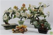 Sale 8505 - Lot 27 - Bonsai Faux Stone Collection (5)