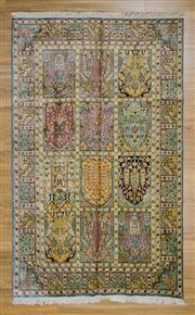 Sale 8566C - Lot 91 - Kashmiri Silk 239cm x 148cm