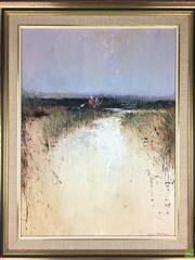 Sale 8589R - Lot 30 - Colin Parker - Oil on Board (59 x 44cm)