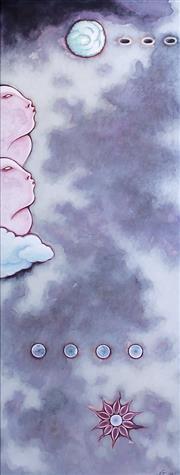 Sale 8787A - Lot 5002 - Guan Wei (1957 - ) - Neo-Genesis No.3, 1998 125 x 47cm