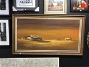 Sale 8816 - Lot 2069 - Hans Anger - Country Side, Oil, SLR, 60x121cm
