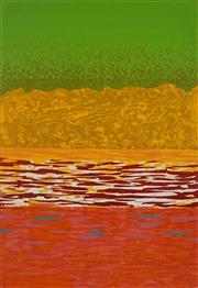 Sale 8980A - Lot 5044 - Una Foster (1912 - 1996) - Galilee 1, 1976 62.5 x 43 cm (frame: 92 x 71 x 3 cm)