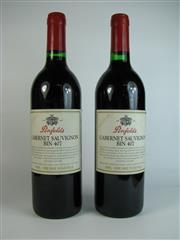 Sale 8340A - Lot 699 - 2x 1997 Penfolds Bin 407 Cabernet Sauvignon, South Australia