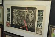 Sale 8425T - Lot 2038 - Earle Backen (1927 - 2005) - Variation on an engraving by Birema, 1977 53.5 x 91.5cm