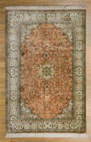 Sale 8566C - Lot 92 - Kashmiri Silk 189cm x 125cm
