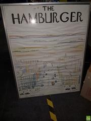 Sale 8573 - Lot 2084 - Hamburger Watercolour