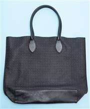 Sale 8661F - Lot 46 - A Mulberry Blossom woven leather tote bag, with dustbag, H 36 x W 40cm