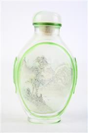 Sale 8844O - Lot 556 - Chinese Glass Inside-Painted Snuff Bottle