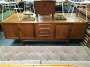Sale 8859 - Lot 1062 - G-Plan Fresco Sideboard with 4 Doors & 4 Central Drawers