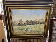 Sale 8914 - Lot 2062 - R. Capel - Pastoral Landscapeoil on canvas, 40 x 50cm signed