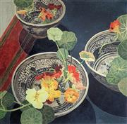 Sale 8939A - Lot 5002 - Cressida Campbell (1960 - ) - Nasturtiums 63 x 63.5 cm