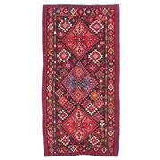 Sale 9019C - Lot 6 - Antique Caucasian Kilim Rug C1940 (rare Size), 213x436cm, Handspun Wool