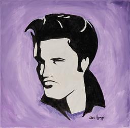 Sale 9139 - Lot 2081 - Greg Lipman (1938 - ) - King 61 x 61 cm