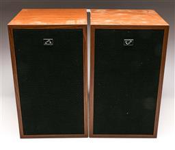 Sale 9136 - Lot 35 - A pair of HMV speakers