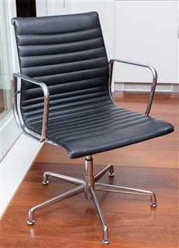 Sale 9150H - Lot 37 - An Eames style office chair, Height of back 90cm