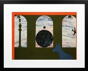 Sale 8330A - Lot 78 - Billy Al Bengston (1934 - ) - BAB 5, 1988 55 x 75cm