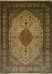 Sale 8424C - Lot 95 - Kashmiri Silk 306cm x 216cm