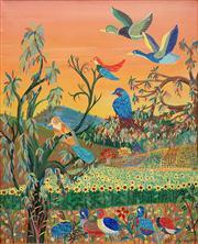 Sale 8583 - Lot 516 - Milan Todd (1922 - ) - Tranquility, 1977 74.5 x 59.5cm