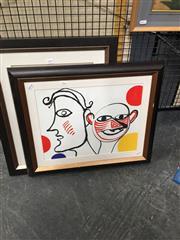 Sale 8720 - Lot 2082 - Alexander Calder - Untitled #31 colour lithograph, 50 x 60cm (frame), unsigned -