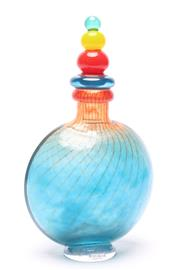 Sale 8725 - Lot 33 - A Kosta Boda Signed Bottle with Stopper ( Signed K Engman H 27cm with Stopper)