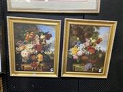Sale 8924 - Lot 2087 - Pair of C16th Dutch Still Life Decorative Prints
