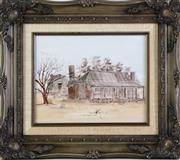 Sale 8958 - Lot 2093 - Barbara Dimitri - Miners Old Home 19cm x 24cm