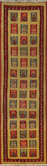 Sale 8360C - Lot 55 - Persian Somak 206cm x 66cm