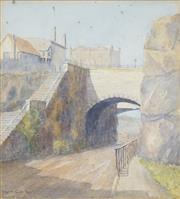 Sale 8475 - Lot 594 - Violet Cowle (XIX - XX) - Argyle Cut, 1927 29 x 26.5cm