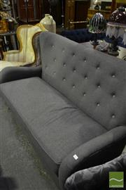 Sale 8472 - Lot 1047 - Wool Blend Mid Century Style Love Seat