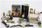 Sale 8490 - Lot 11 - Assorted Vintage Watches incl Waltham, Stewart Dawsons & Co Silver Pocket Watch (a.f)