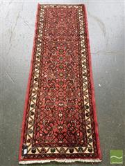 Sale 8542 - Lot 1050 - Persian Hamadan Runner (204 x 60cm)