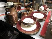 Sale 8789 - Lot 2294 - Sundries incl. Stylecraft Midwinter Dinner Wares, Copperwares, New Zealand Items
