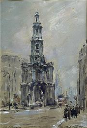 Sale 8894A - Lot 5024 - Robert Campbell (1902 - 1972) - The Strand, 1963 33 x 22.5 cm