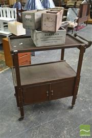 Sale 8390 - Lot 1546 - Timber Tea Trolley