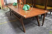 Sale 8550 - Lot 1095 - Tiered Retro Coffee Table