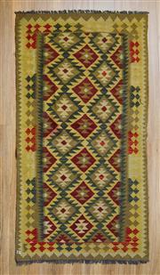 Sale 8566C - Lot 94 - Persian Chobi Kilim 200cm x 100cm