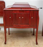 Sale 9058H - Lot 60 - A mahogany HMV Gramophone cabinet, Height 90cm x Width 72cm x Depth 51cm
