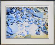 Sale 8374 - Lot 504 - Brian Stratton (1936 - ) - Bateau Bay, 1944 55.5 x 74cm