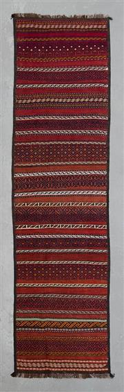Sale 8499C - Lot 3 - Persian Kilim 290cm x 74cm
