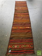 Sale 8542 - Lot 1078 - Persian Kilim Runner (255 x 78cm)