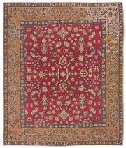 Sale 8725C - Lot 23 - A Vintage Turkish Bessarabian Kilim Carpet, Hand-knotted Wool, 246x294cm, $3,000
