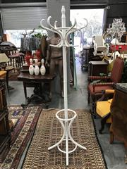Sale 8822 - Lot 1232 - Turned Timber Coat Stand