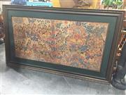 Sale 8822 - Lot 1738 - FRamed Hand Woven Tapestry