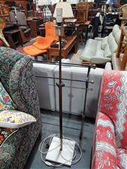 Sale 8863 - Lot 1074 - Vintage Brass Floor Lamp