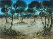 Sale 8870A - Lot 529 - Kevin Charles (Pro) Hart (1928 - 2006) - Study Near Broken Hill, Wentworth Road 44.5 x 61.5cm