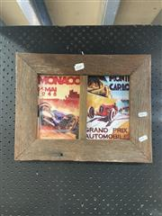 Sale 8932 - Lot 2049 - Rustic Framed Monaco And Monte Carlo Prints (1)