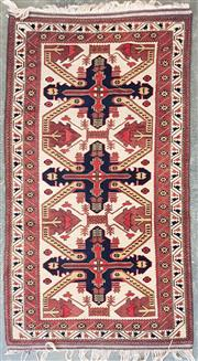 Sale 8988 - Lot 1083 - Possibly Pakistani Woollen Rug (210 x 116cm)
