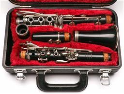 Sale 9136 - Lot 13 - A Yamaha C-100 clarinet (063571)